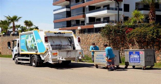 Alanya Belediyesi'nden Çöp toplama saatine ramazan düzenlemesi