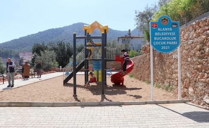 Alanya Belediyesi'nden yeni park