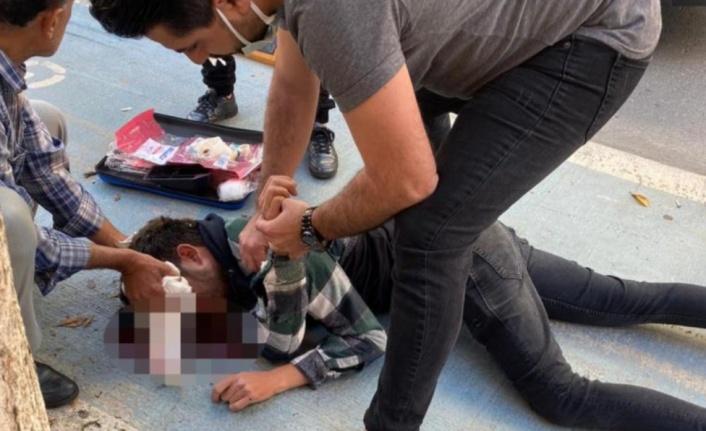 Alanya'da köpeğe çarpan sürücü ağır yaralandı
