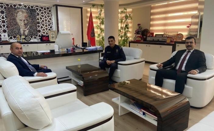 Alanya Ülkü Ocakları Başkanı Uysal ziyaret turunda