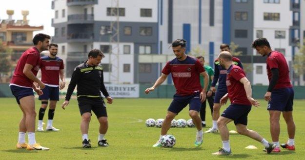 Alanyaspor, Malatyaspor maçı hazırlıklarını tamamladı
