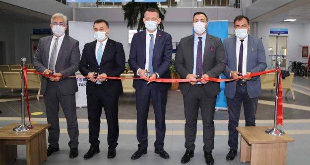 ALKÜ Diş Hakimliği'nde 9 proje için açılış yapıldı