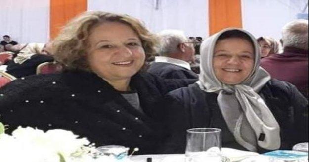 Aynı gün Korona virüsten ölen ikiz kız kardeşler yan yana defnedildi