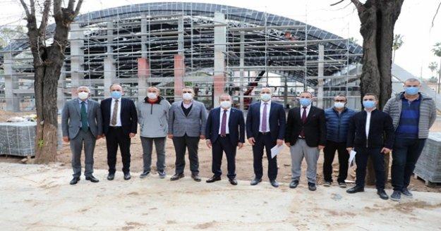 Başkan Böcek Karaalioğlu Kent Yaşam Parkı Projesi'ni inceledi