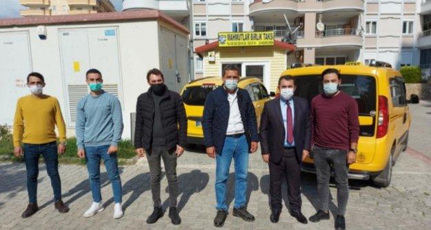 Başkan Çalış'tan taksicilere hijyen teşekkürü