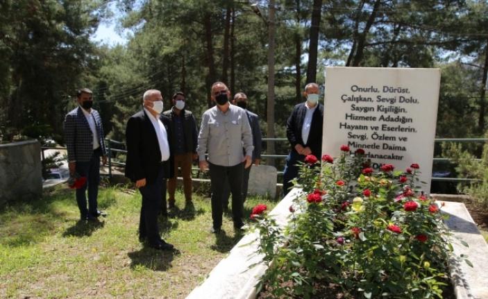 Başkan Şahin, Müstakbel Dim'in kabrini ziyaret etti