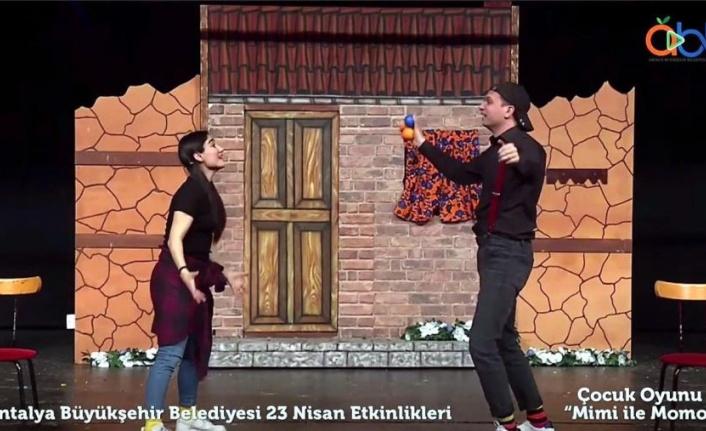 Büyükşehir'in Online Uluslararası 23 Nisan Şenliği başladı