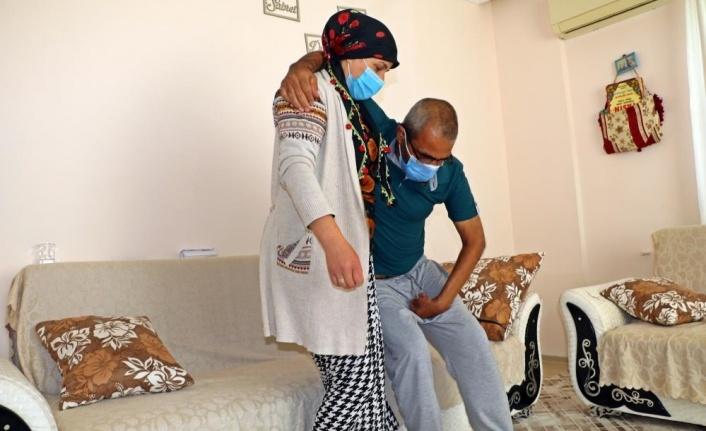 Engelli adam, akülü sandalyesini çalan hırsıza gözyaşları içinde beddua etti