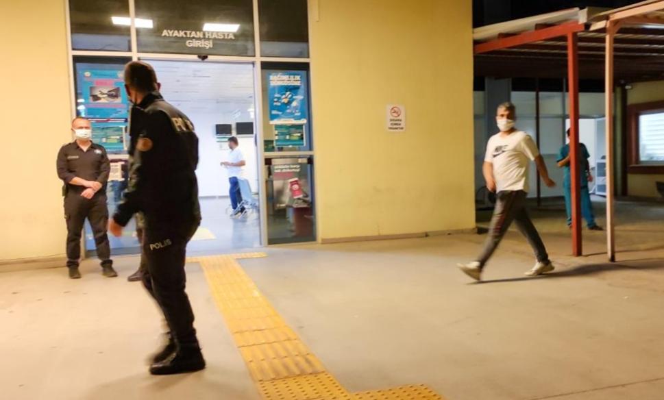 Karantinadan kaçıp olay çıkardı, polisin yüzüne tükürdü