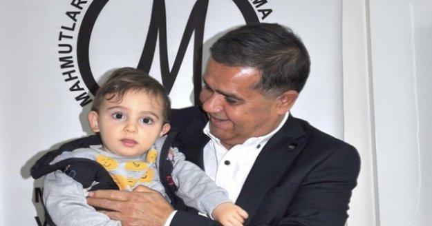 MAHKOD'dan Ahmet bebeğe büyük destek