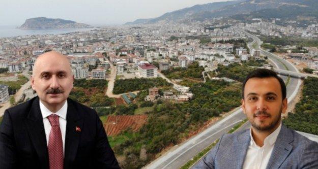 Ulaştırma Bakanı Alanya'ya geliyor