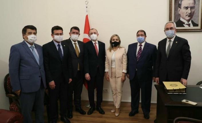 AESOB Başkanı Dere, Ankara'da esnafın taleplerini görüştü