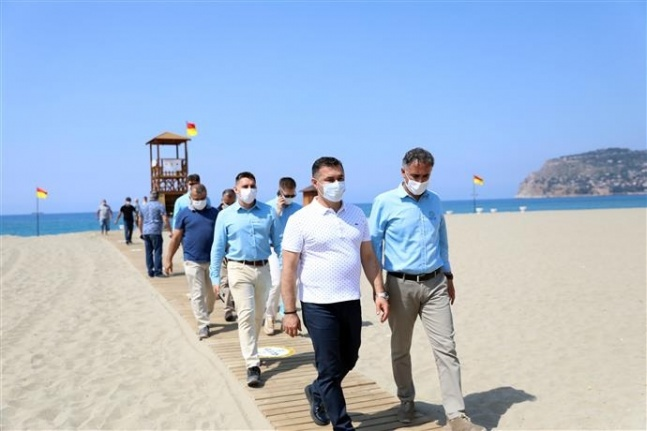 Alanya Mavi Bayraklı plaj sayısıyla Antalya'da 2.sırada