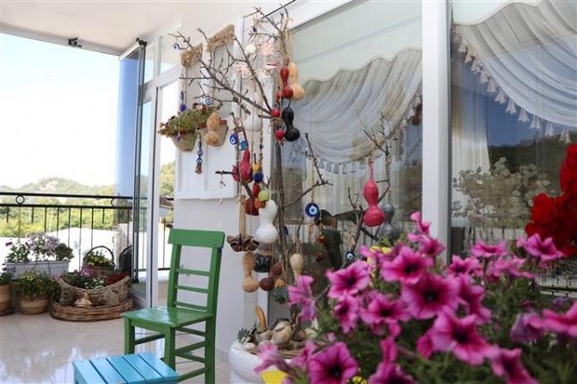 Alanya'nın en güzel balkon ve en güzel bahçesi belli oldu