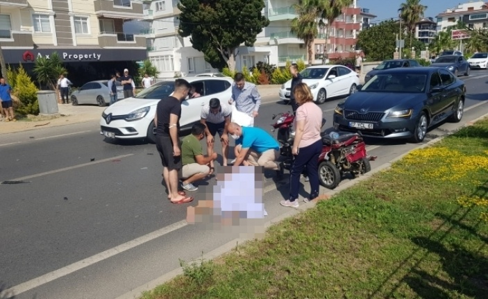 Alanya'da feci kaza:1 ölü