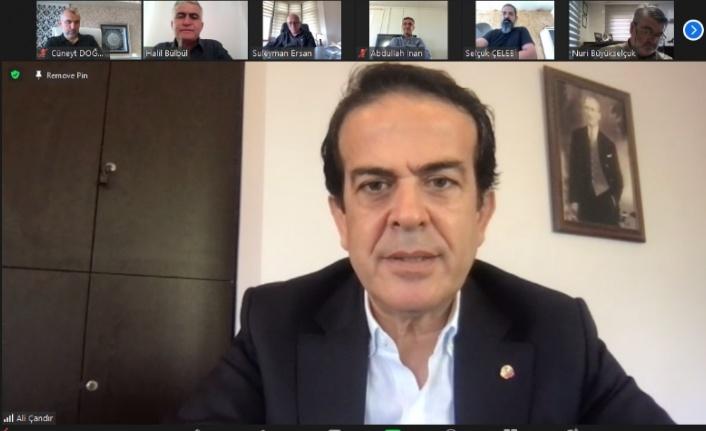 """ATB Başkanı Çandır: """"Antalya ticareti büyük darbe aldı"""""""