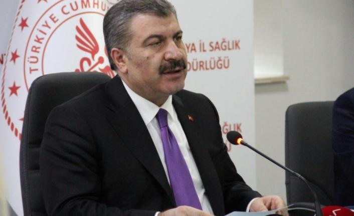 Bakan Koca'dan Antalya'da flaş açıklamalar