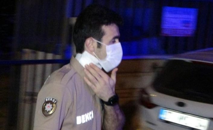 Bekçiye saldıran alkollü şahıs vurularak yakalandı