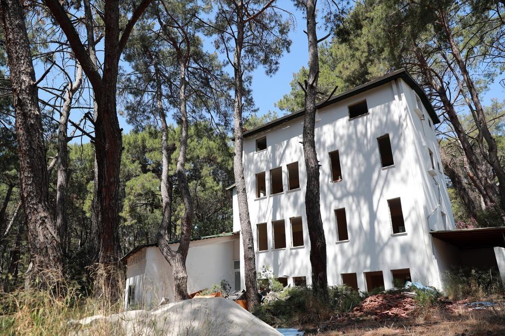 Gençler için kamp ve eğitim merkezi