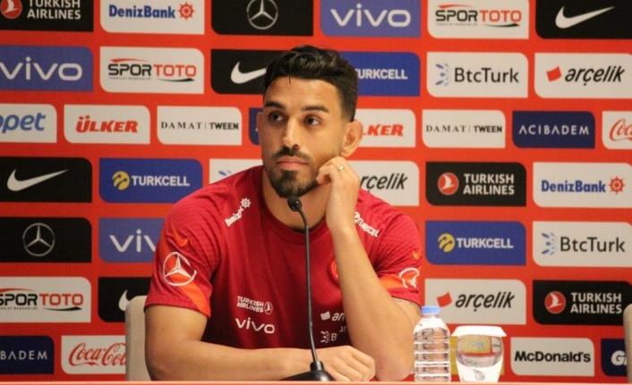"""İrfan Can Kahveci: """"Avrupa Şampiyonası'nda gidebildiğimiz yere kadar gitmek istiyoruz"""""""