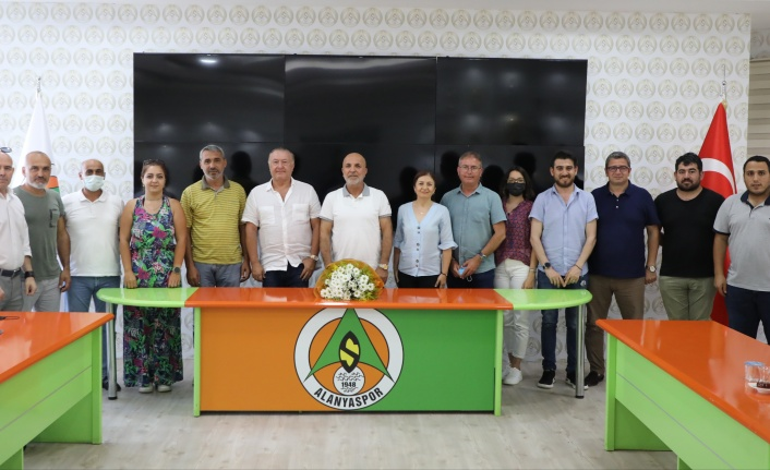 AGC'den Çavuşoğlu'na 'Hayırlı olsun' ziyareti