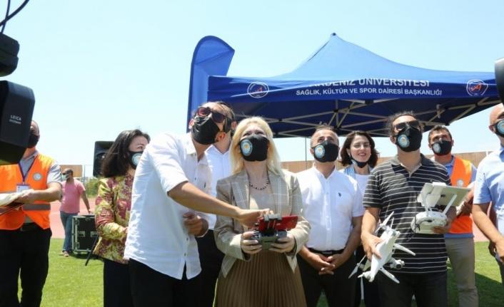 Akdeniz Üniversitesinin güvenliğini artık droneli ekipler sağlayacak