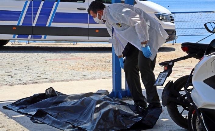 Akıntıya kapılıp kaybolan kadının cesedi denizin 4 mil açığında bulundu