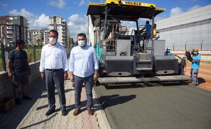Alanya Belediyesi'nden asfaltta yeni sistem