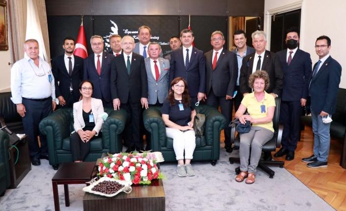 Alanya CHP, Kemal Kılıçdaroğlu ile buluştu