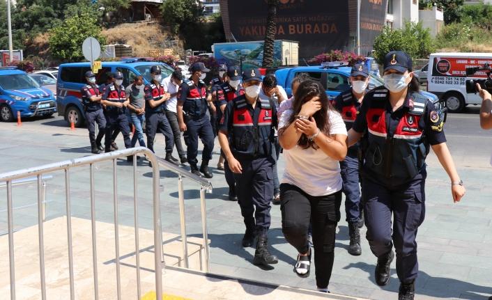 Alanya'da insan taciri operasyonu: 7 gözaltı var