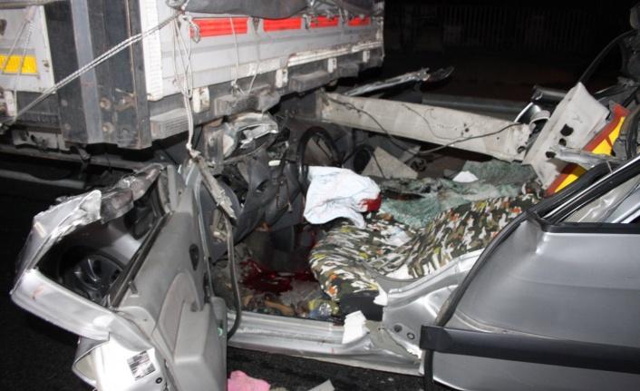 Alanya yolunda feci kaza: 1 ölü var