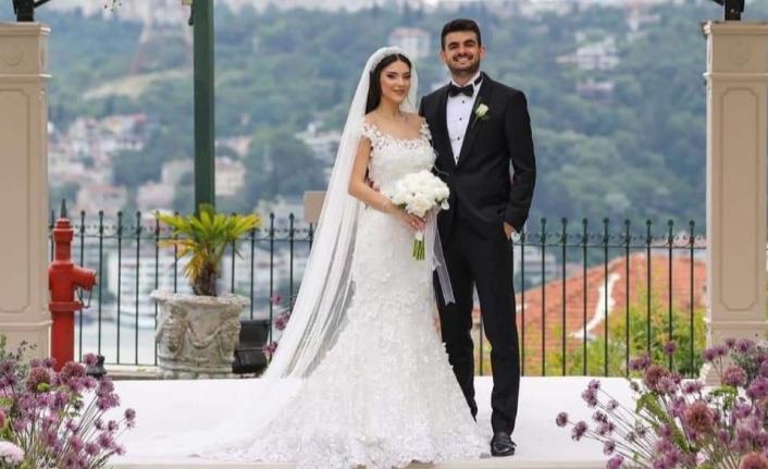 Alanyaspor'lu futbolcu evlendi