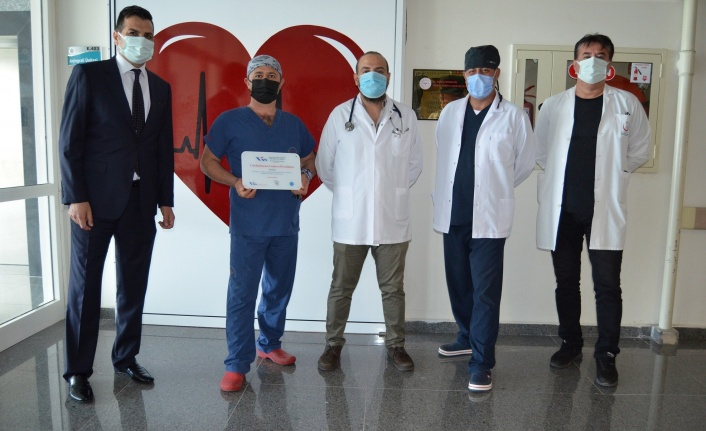 ALKÜ Tıp Fakültesi'ne mükemmeliyet belgesi
