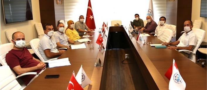 ALKÜ Yönetimi Sendika temsilcileriyle bir araya geldi