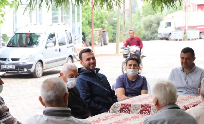 Başkan Toklu ve yönetimi Güzelbağ'da