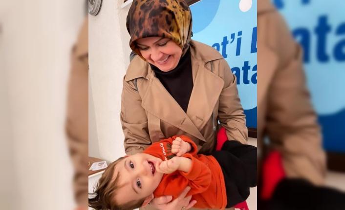 Başkan Türkdoğan'ın Ahmet Bebek sevinci