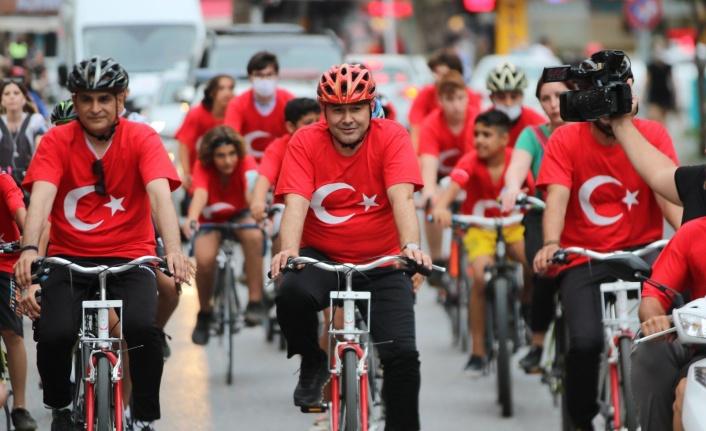 Başkan Yücel, Alanya halkıyla pedal çevirecek