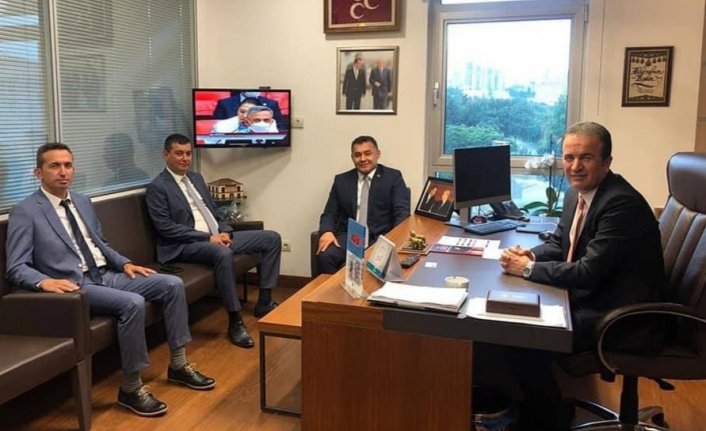 Başkan Yücel'le Alanya'nın sorunları Ankara'da