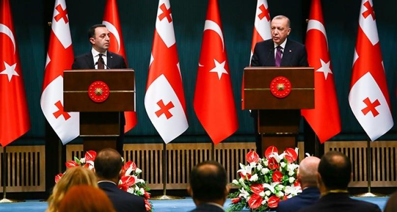 Cumhurbaşkanı Erdoğan: 'Türkiye-Azerbaycan-Gürcistan iş birliği, bütün bunlara varız'