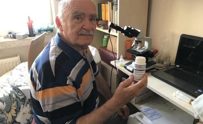 Emekli profesör, kekik bitkisinden mantar ve böcekler üzerinde etkili bitkisel ilaç geliştirdi