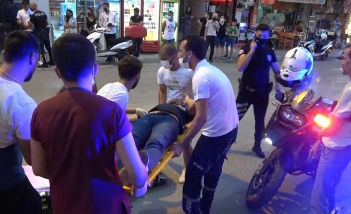 Husumetli 2 grubun kavgasında silahlar konuştu: 2 yaralı var