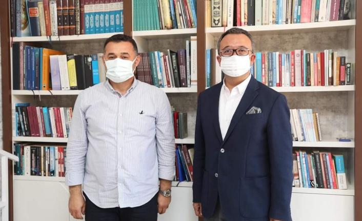 Kamburoğlu'ndan Yücel'e ziyaret