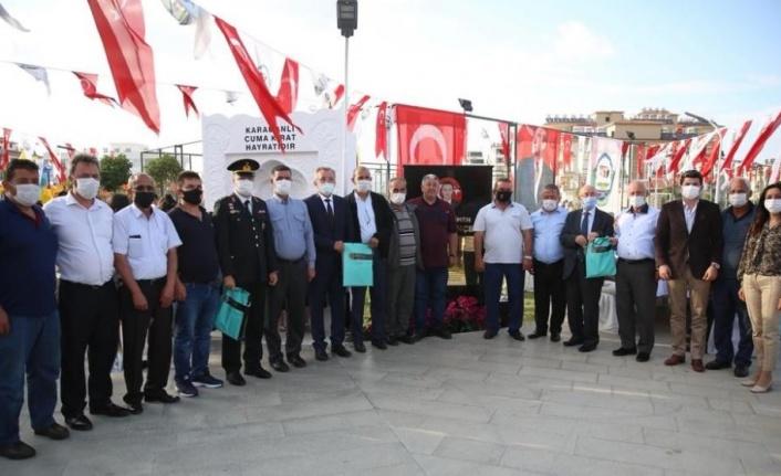 Şehit Teğmen Fikret Dinçer'in adının yaşatılacağı park törenle açıldı