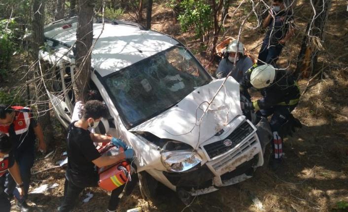 Trafik kazası baba kızı ayırdı: 1 ölü