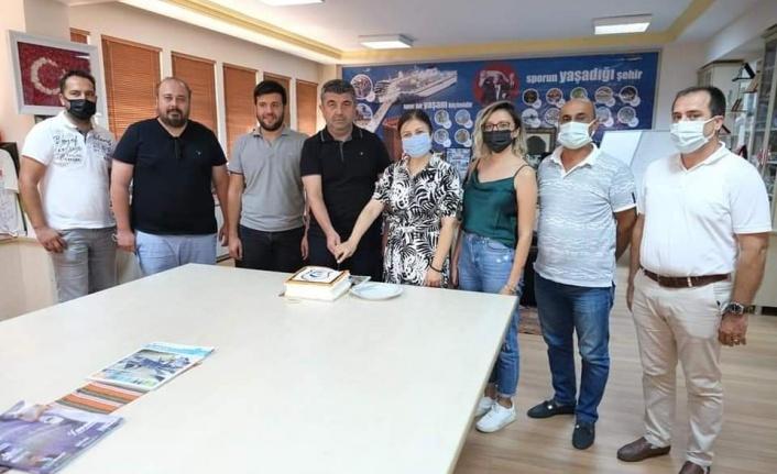 AGC'den Kestelspor'a hayırlı olsun ziyareti