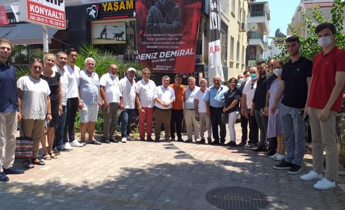 Alanya CHP'den başsağlığı ziyareti