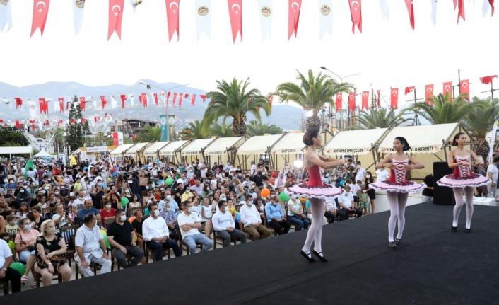 Alanya'da çocuk festivali başladı