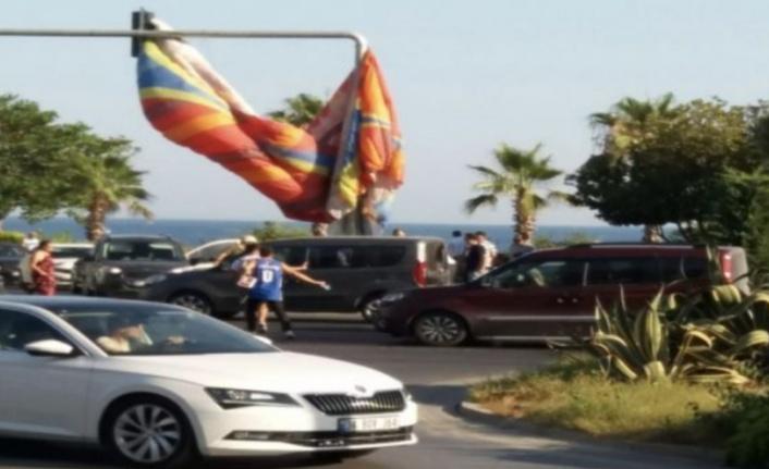 Alanya'da paraşüt kazası: 2 yaralı var