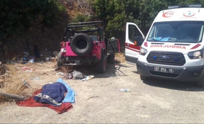 Alanya'da safari aracı devrildi: 1 ölü, 9 yaralı var