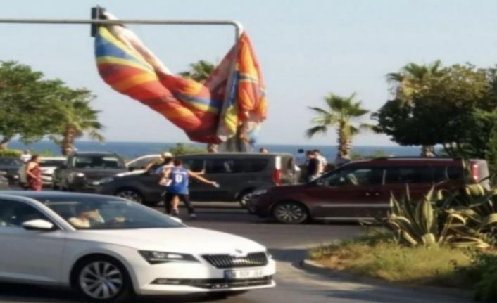 Alanya'da yamaç paraşütü atlayışına yeni düzenlene
